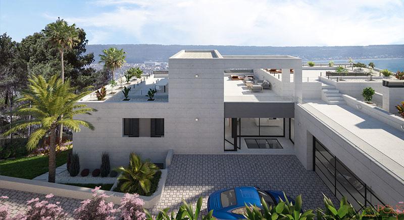 villa-Infinity-mallorca-son-vida-arquitecto-arkipolis-entrada