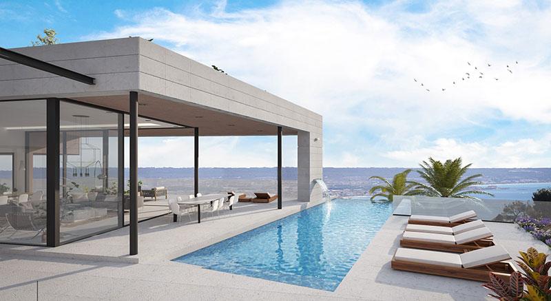 villa-de-lujo-Infinity-mallorca-son-vida-binicaubell-arquitecto-arkipolis-piscina-porche-terraza